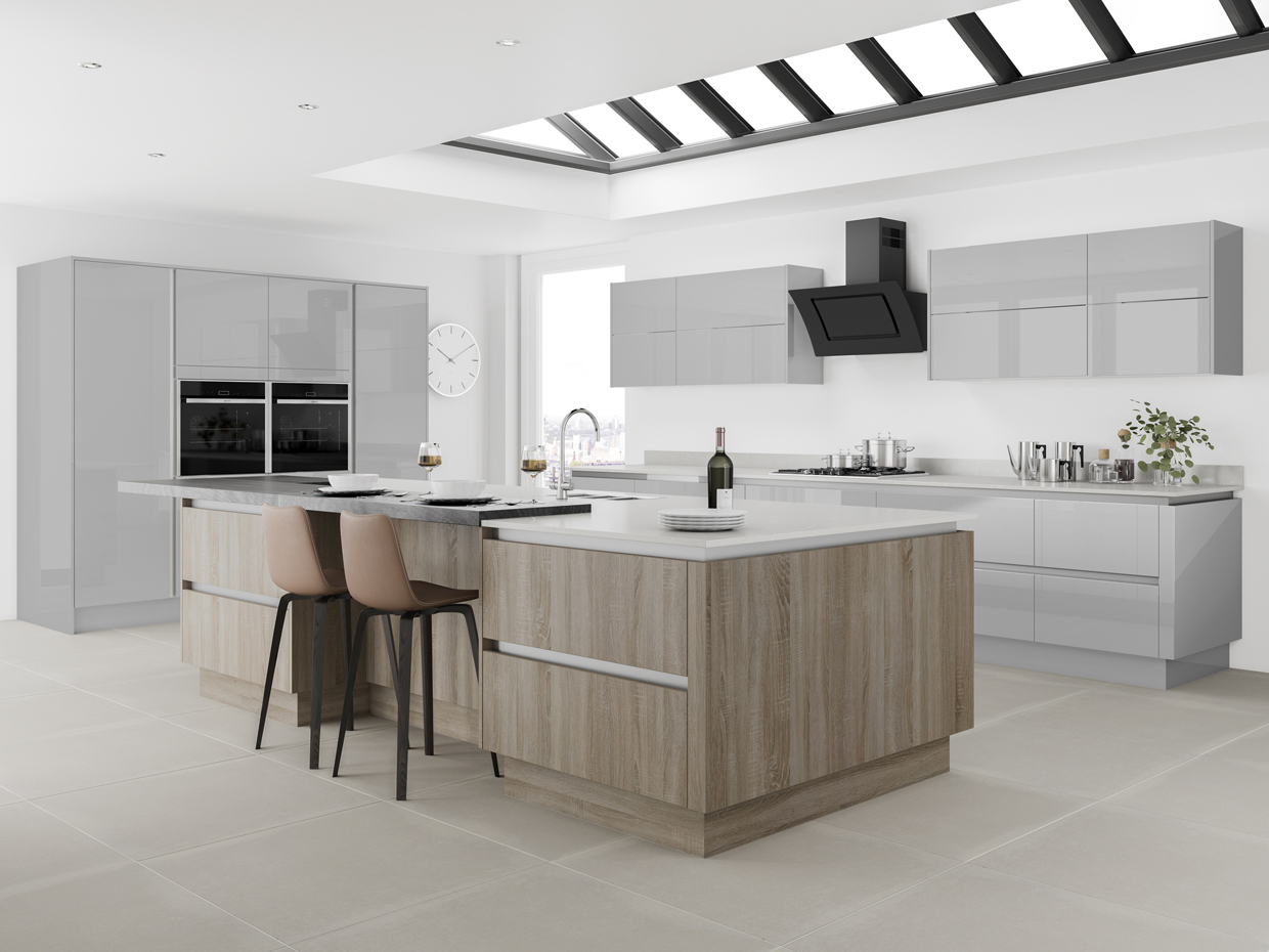 Buy Handle Less In Aberdeen Affordable Kitchens And Bathrooms